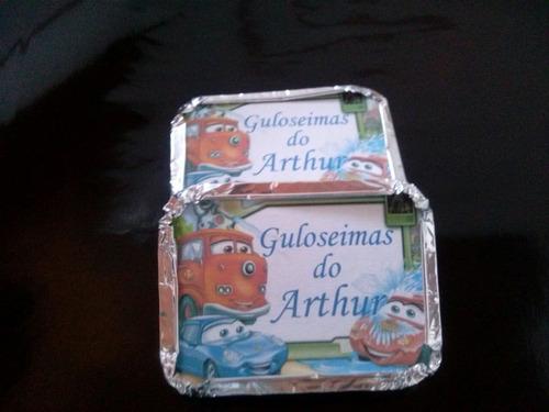 kit 40 latinhas + 40tubetes + 80 marmitinhas