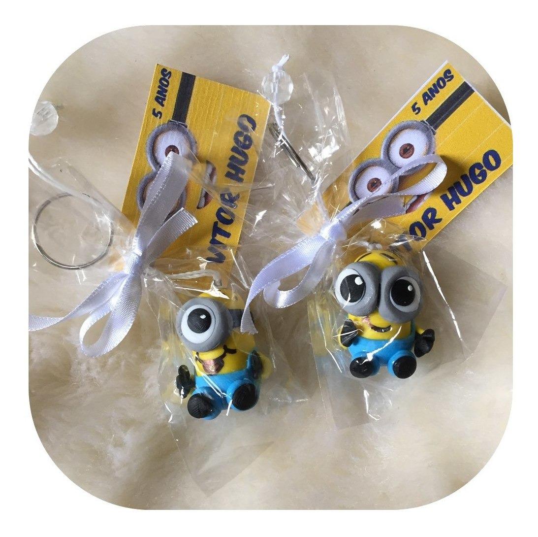 Kit 40 Lembrancinhas Aniversário - Chaveiros Minions C/ Tag - R$ 80,00 em  Mercado Livre