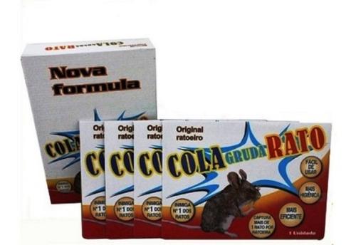 kit 40 ratoeiras adesiva cola tudo pega rato armadilha