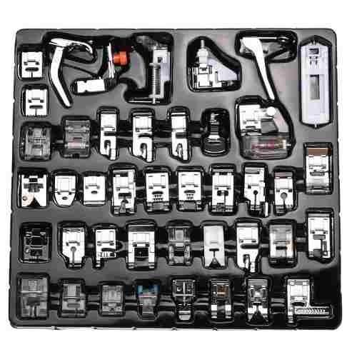 kit 42 prensatelas para maquina de coser singer brother