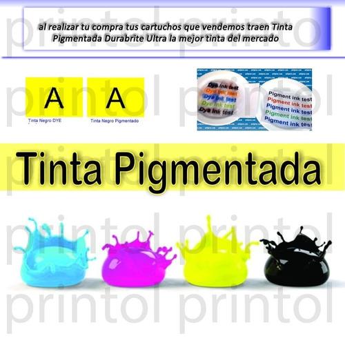 kit 4/5/6 cartuchos recargables llenos tinta dura brite ulta