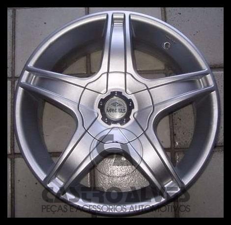 kit 4pçs calota roda mangels mythus aro 14|15|16|17 pdac8675