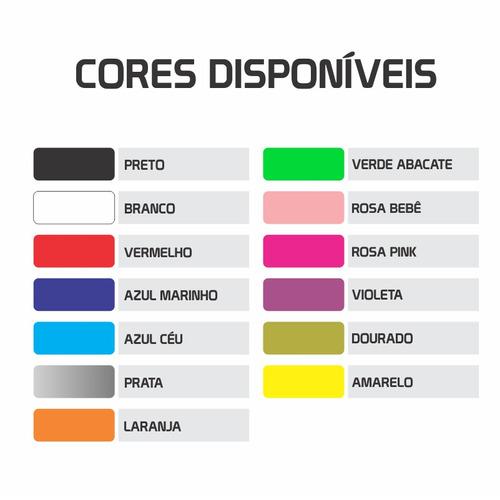 70a5521d7 Kit 4x Adesivos Lacoste Marcas Famosas Roupas 12cm A574 - R  11