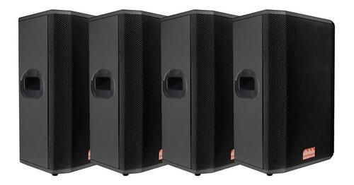 kit 4x caixas passivas somplus 12 polegadas 150w sp122vias