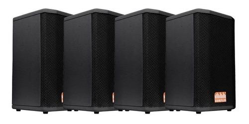 kit 4x caixas passivas somplus 8 polegadas 150w sp082vias
