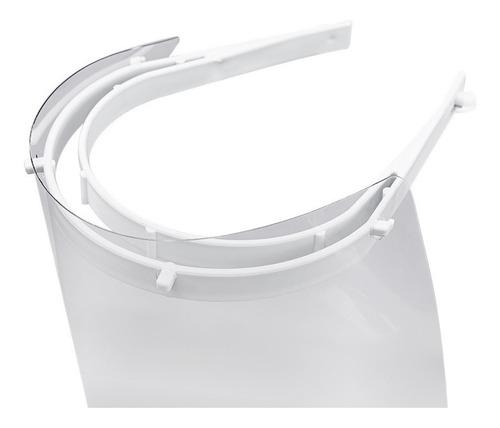 kit 4x máscaras face protector by brinox 135 x 175 x 240 mm