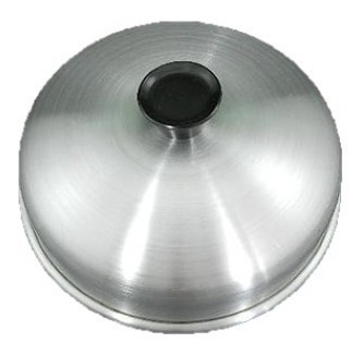 kit 5 abafador de hamburguer em alumínio