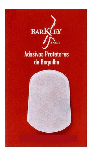 kit 5 adesivos barkley protetor boquilha massa sax alto