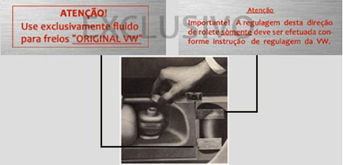 kit 5 adesivos vw fusca 1966 - padrão original