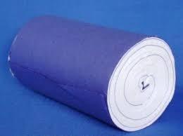 kit 5 algodão hidrófilo 500g - rolo -nathalia