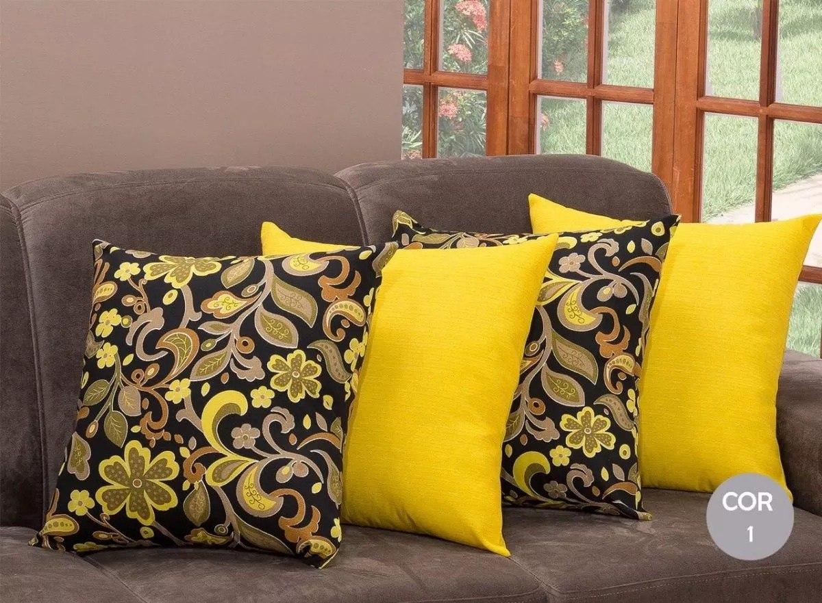 07a9fc74f kit 5 almofadas decorativa cheias sala sofá pronta entrega. Carregando zoom.