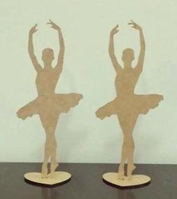 7d20c00b05 Kit Sapatilha Bailarina Mdf no Mercado Livre Brasil