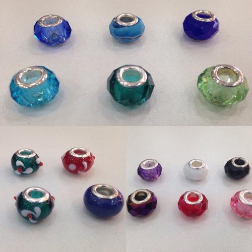kit  5  berloques coloridos