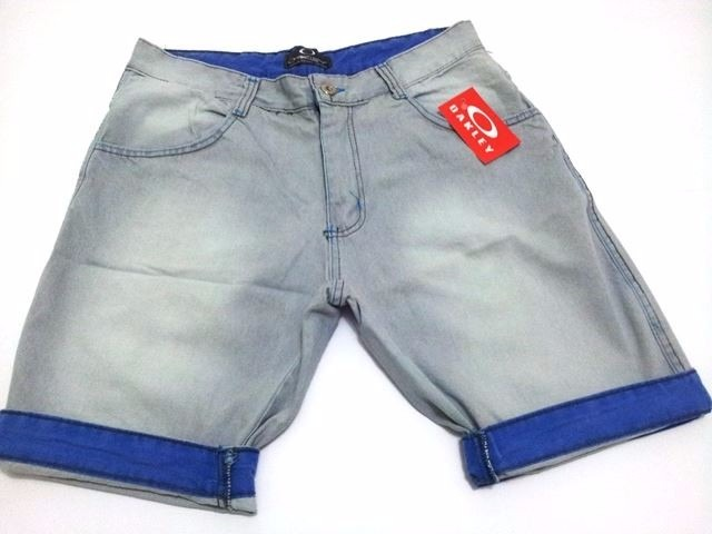 b2327d50515ea5 Kit 5 Bermudas Jeans Masculina De Marca Famosas