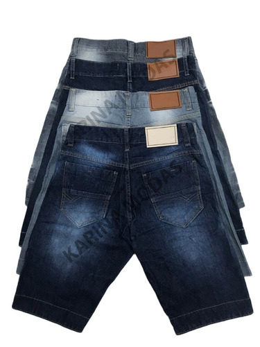 kit 5 bermudas jeans masculina frete grátis super barato
