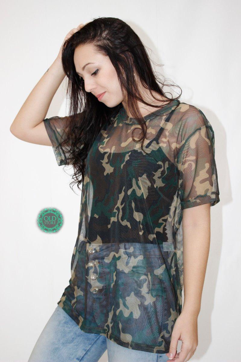 3ee653afd kit 5 blusa blusinha tule transparente e cropped tule oferta. Carregando  zoom.
