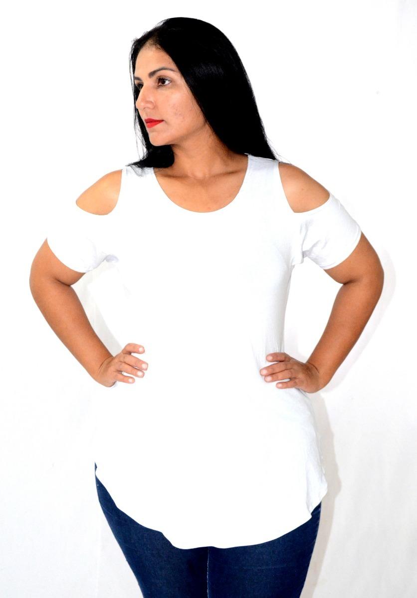 6f35b09dfc kit 5 blusas batas aberta no ombro moda maior plus size. Carregando zoom.