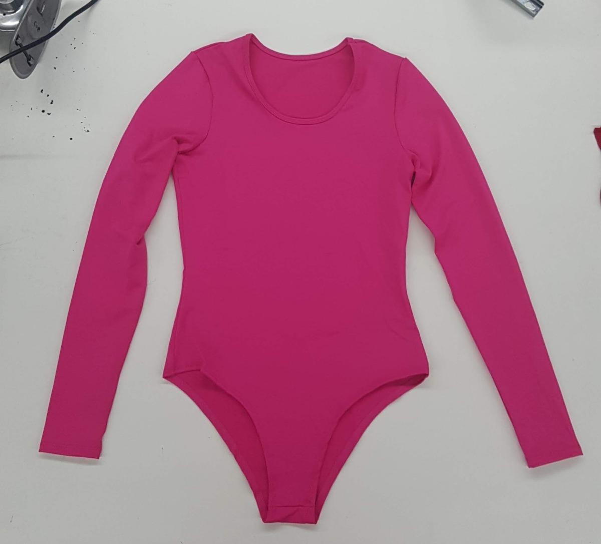 3e227cf75 kit 5 body feminino manga longa costa fechada inverno 040. Carregando zoom.