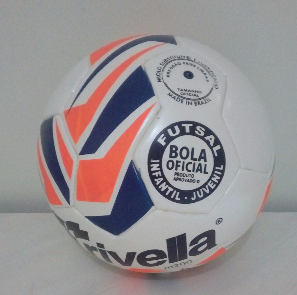 efd2f0a91f kit 5 bolas de futsal max 200 infantil trivella brasil gold. Carregando zoom .