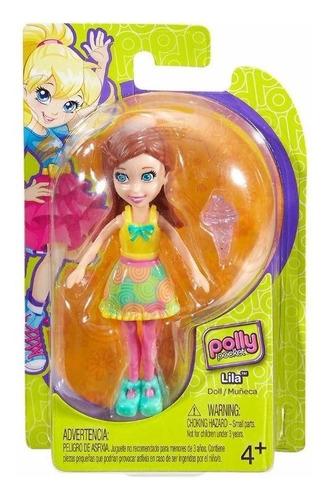 kit 5 bonecas polly pocket original mattel com frete gratis