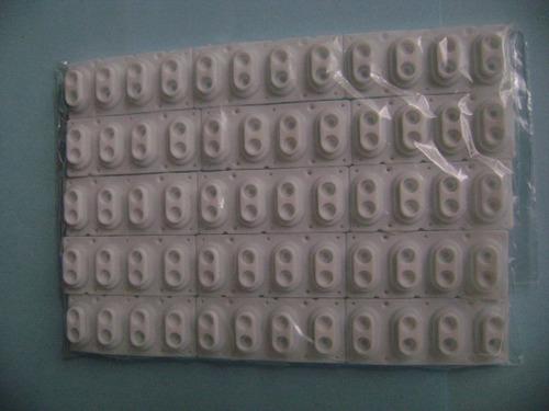 kit 5 borrachas novas peças teclado roland d-20 frete só r$1
