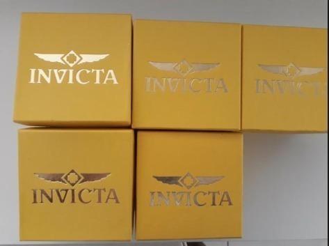 kit 5 caixinha para relógio várias marcas revender lindas