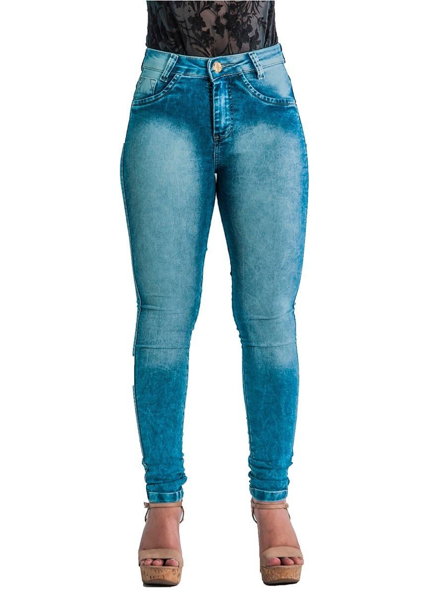 4f5bc3be5d ... jeans feminina cós alto calça cintura alta. Carregando zoom.