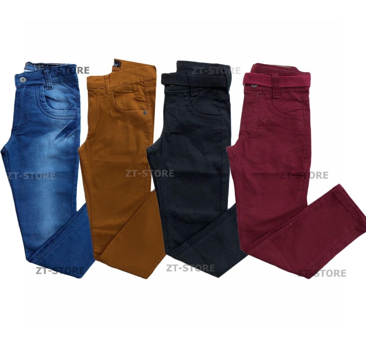 a35f3f09f kit 5 calça jeans masculina infantil + 5 calças masculinas. Carregando zoom.