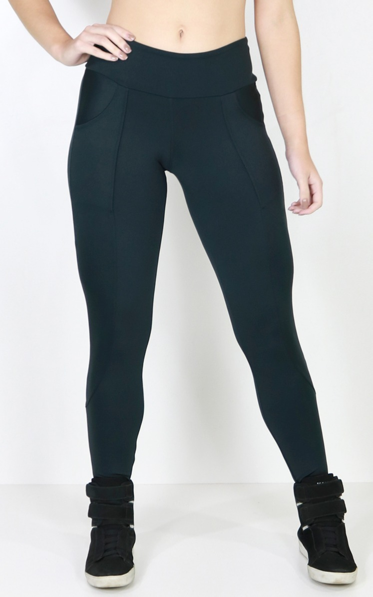 6a5d0d425 kit 5 calça legging montaria bolso feminina suplex fit 134. Carregando zoom.