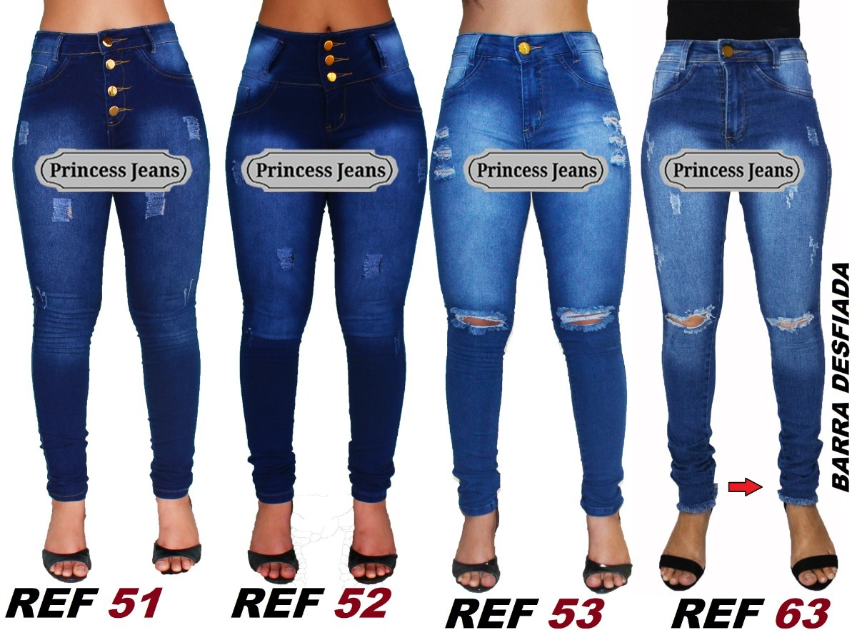 9fe01864e00 kit 5 calças jeans feminina hot pants cintura premium luxo. Carregando zoom.