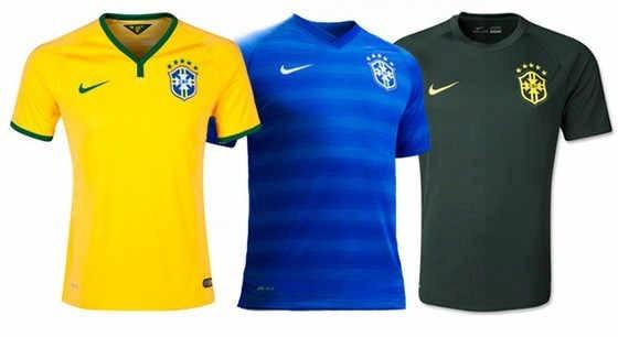cbb46d4168669 Kit 5 Camisa Blusa Time Brasil Adu. Personalizada Com Nome!! - R ...