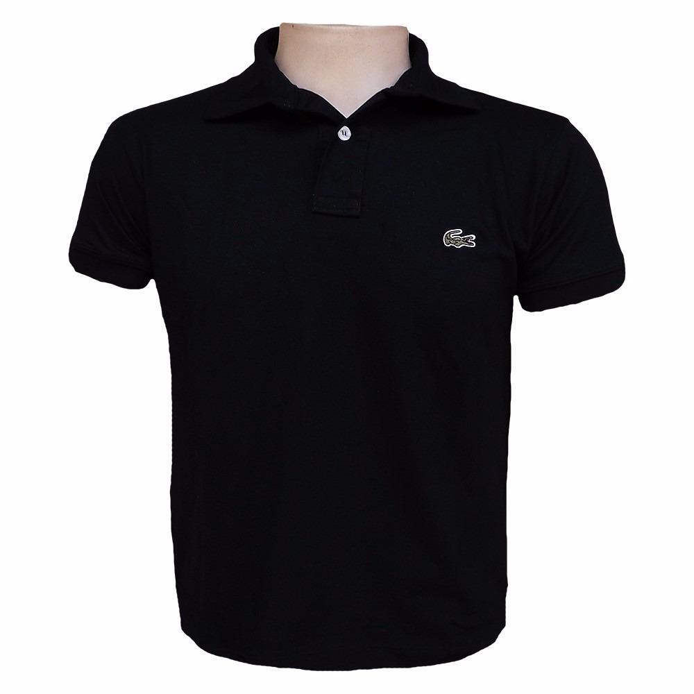 Kit 5 Camisa Gola Polo Lacoste Masculina - R  139,99 em Mercado Livre ba6c09a170