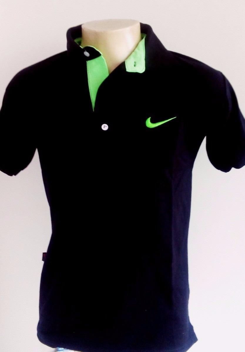 Kit 5 Camisa Gola Polo Nike Camiseta Diversas Cores - R  150 0f802afbd512a