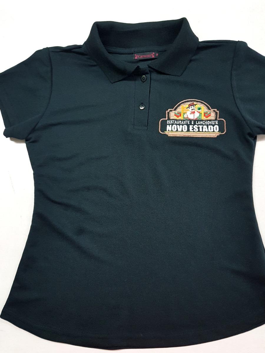 kit 5 camisa gola polo personalizada uniforme bordado. Carregando zoom. e63dbabc0680f