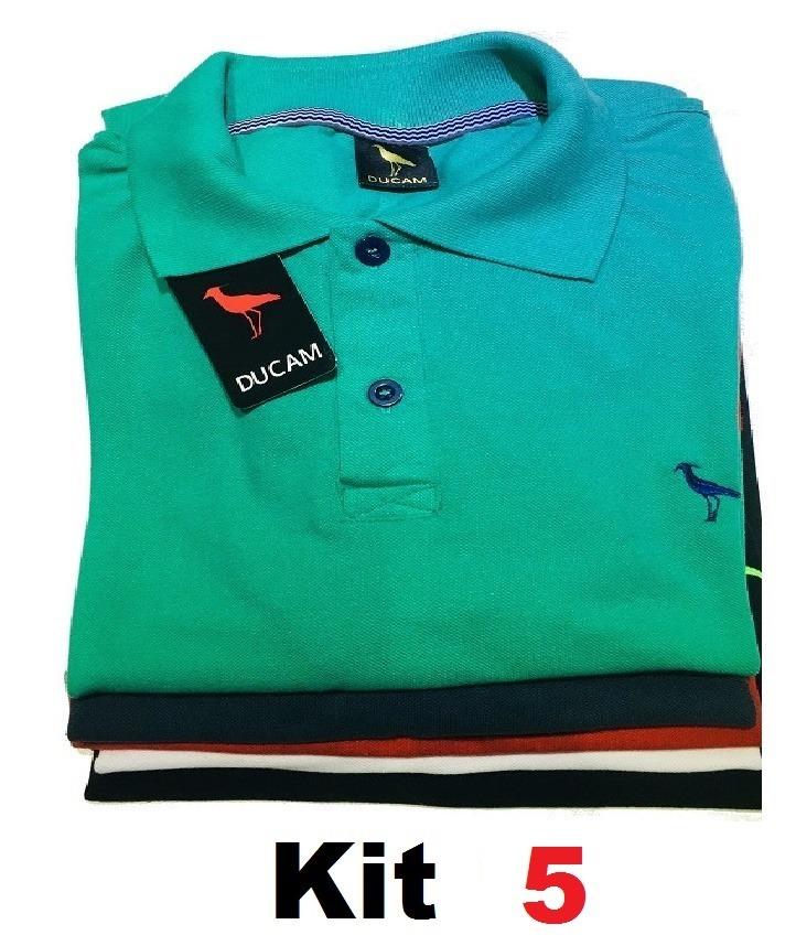 396e828d4594b kit 5 camisa gola polo pronta entrega importada de marca. Carregando zoom.