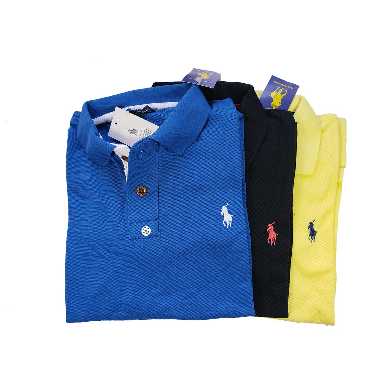 2025285d5579d kit 5 camisa gola polo qualidade tecido piquet original. Carregando zoom.