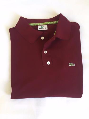 Kit 5 Camisa Masculina Gola Polo Lacoste Tecido Piquet - R  125,00 ... 419aaadf4f