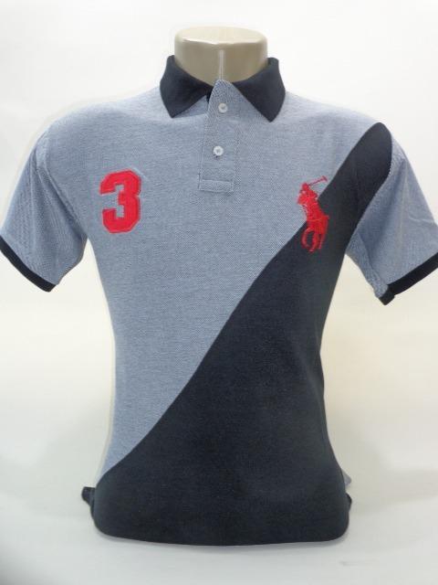 Kit 5 Camisa Polo Importada Marcas Famosas - R  119 2c6da8ac17c68