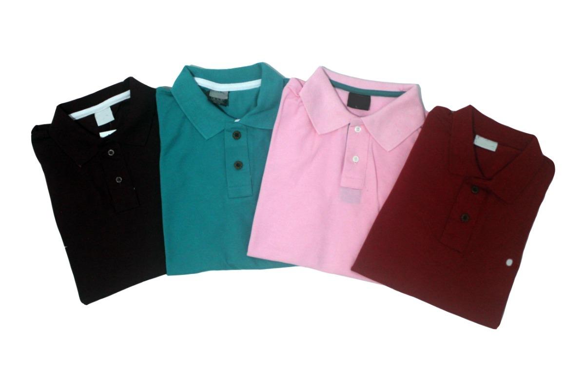 Kit 5 Camisa Polo Lisa Camiseta Masculina Algodão Piquet - R  120,00 em  Mercado Livre 693c404818