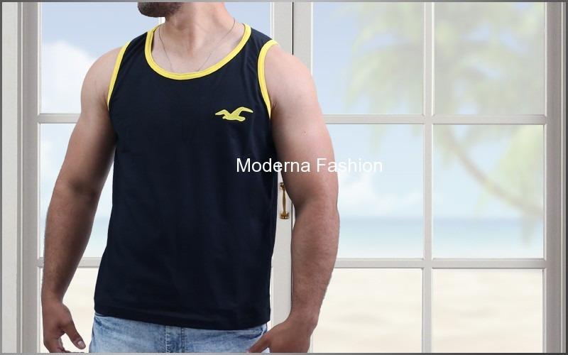 f54b6b5e414c7 Kit 5 Camisa Regata Masculina Marcas Famosas Atacado Barato - R  83 ...
