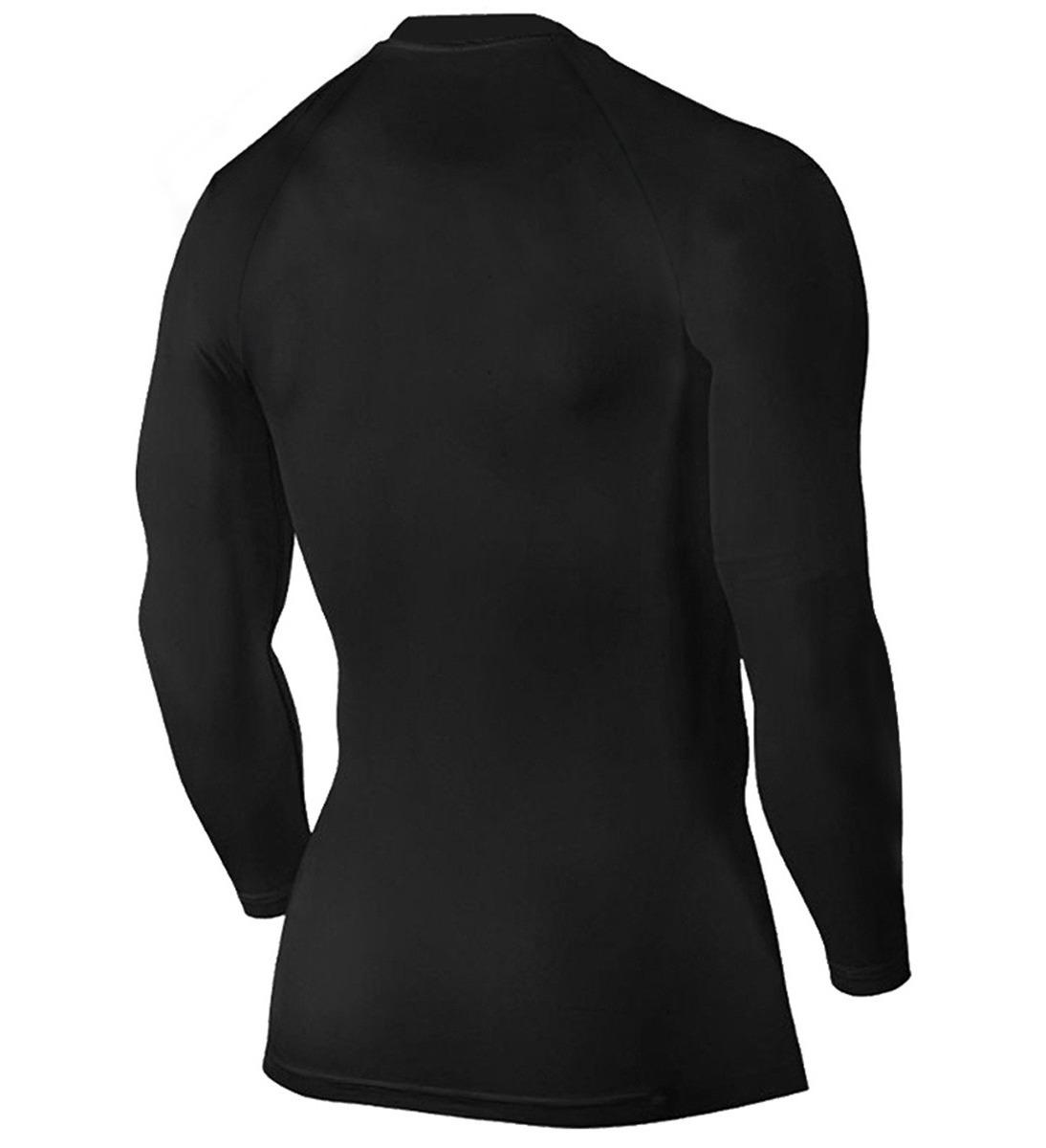 kit 5 camisa térmica segunda pele manga longa proteção uv. Carregando zoom. 97e991b6bbff4