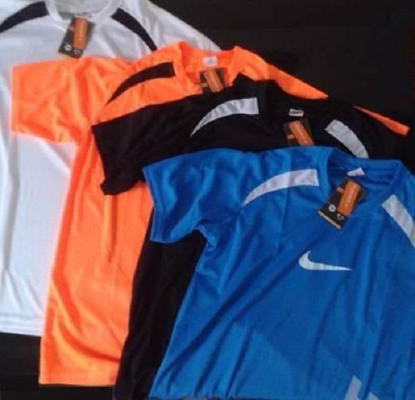 f29a769a3 Kit 5 Camisas Camiseta Dry Fit Academia Atacado Revenda - R  60