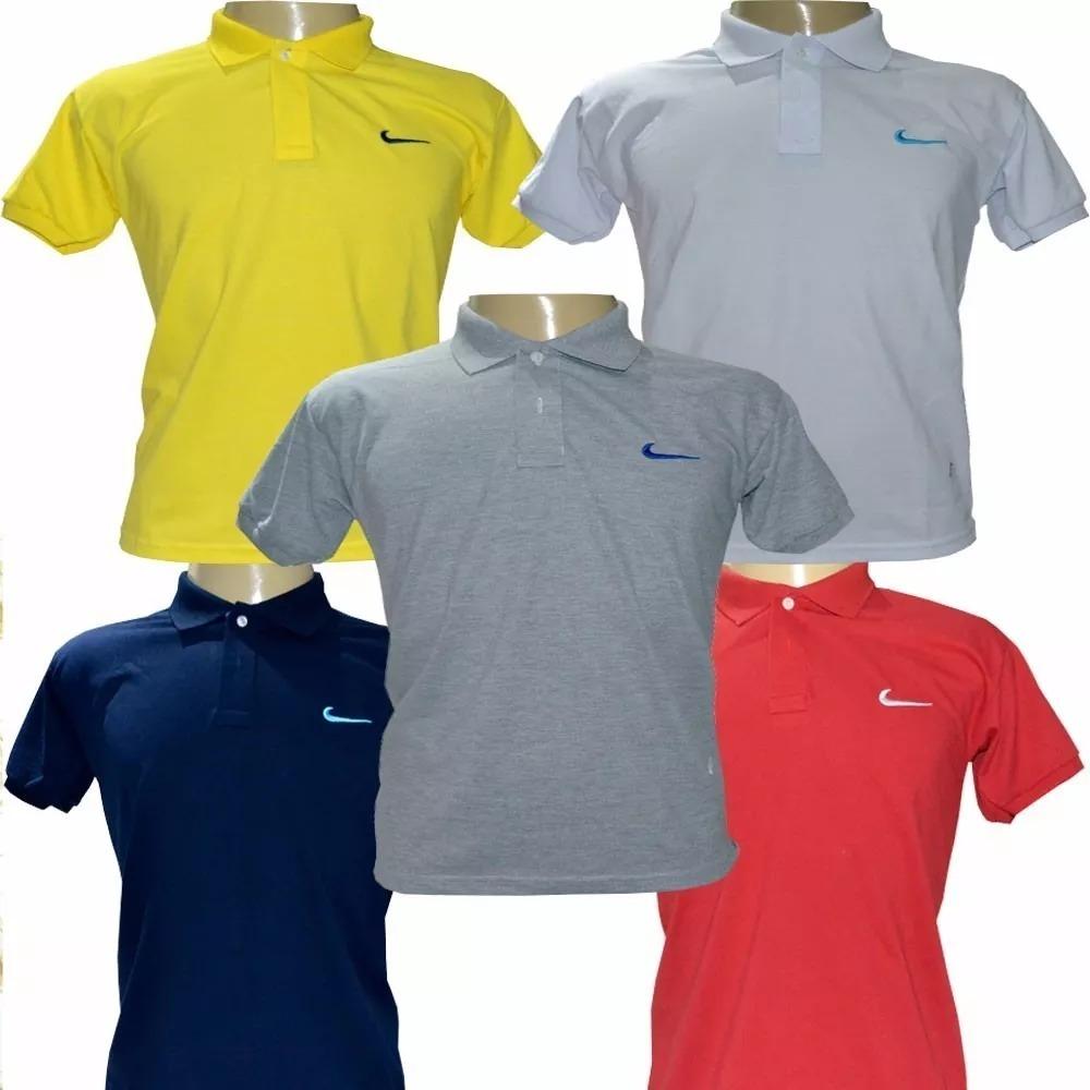 0f65bebae6370 Kit 5 Camisas Camiseta Gola Polo Masculinas Atacado Revenda - R  149 ...