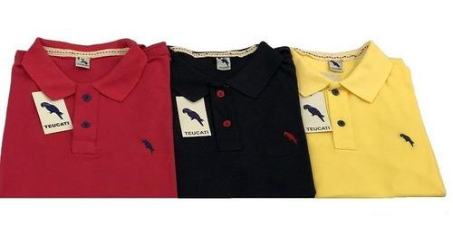 kit 5 camisas camisetas gola pólo masculina atacado 2018