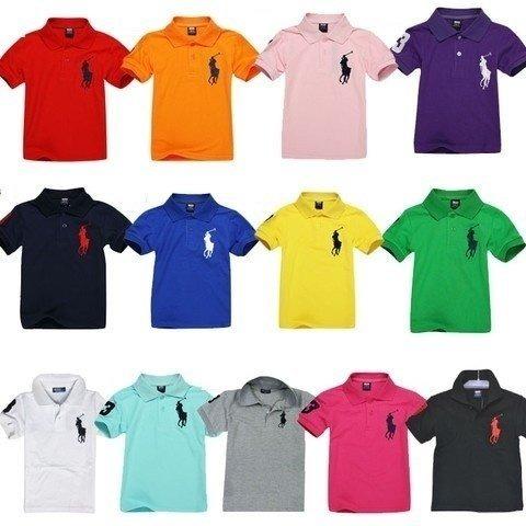 Kit 5 Camisas Gola Polo Infantil Piquet Camisetas Atacado - R  139 ... 1b174e3a76