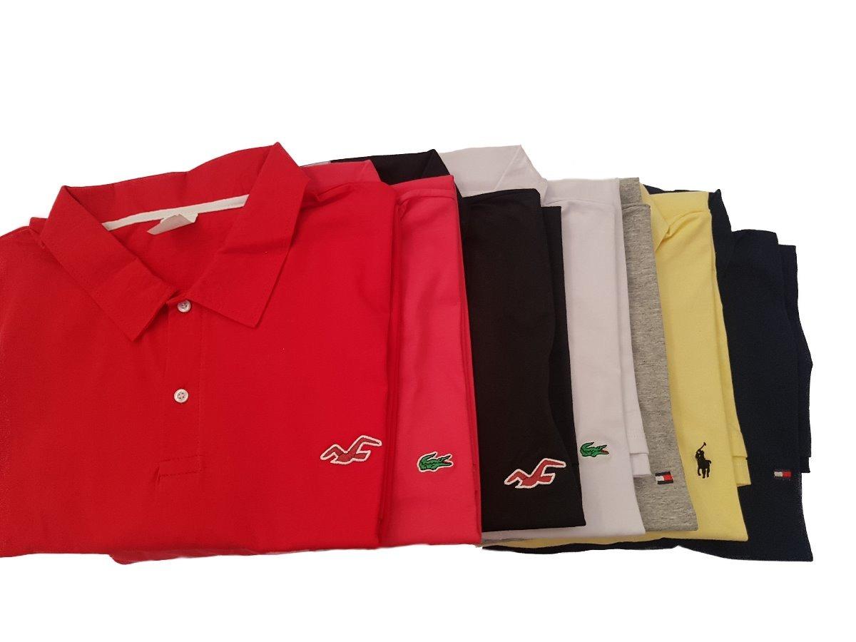 e615b7a808 Kit 5 Camisas Gola Polo Plus Size Tamanho G8 - R  329