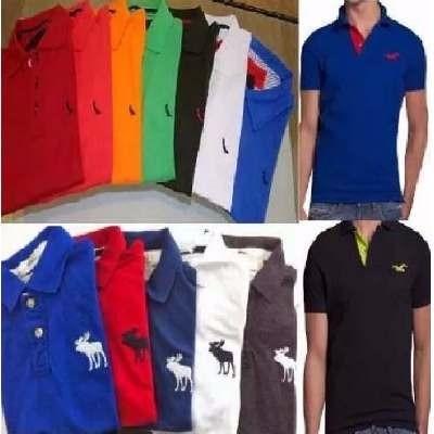 6be7443815d83 Kit 5 Camisas Gola Polo Varias Marcas Atacado 100% Algodão - R  90 ...