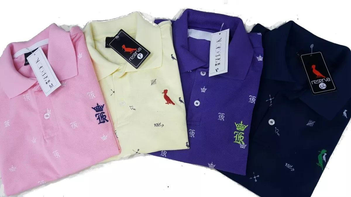 2b73d22eff kit 5 camisas polo camisetas blusas baratas de marca. Carregando zoom.
