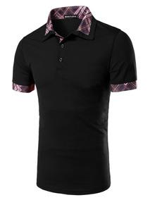 ac46f56ca2 Kit 5 Camisas Polo Masculina Alto Padrao Blusa Camiseta Polo