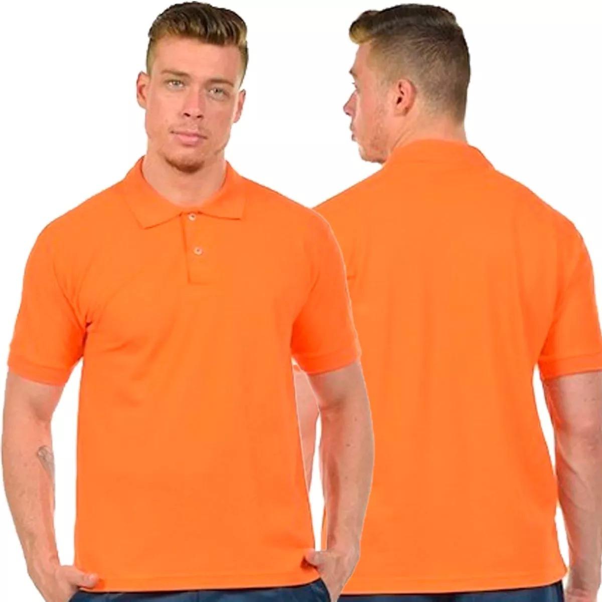 f7a2172b98 Kit 5 Camisas Polo Masculina Camiseta Gola Atacado Uniforme - R  143 ...
